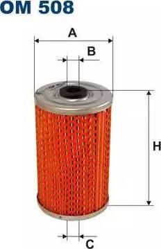 Filtron OM 508 - Filtr oleju intermotor-polska.com
