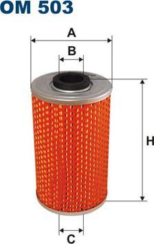 Filtron OM 503 - Filtr hydrauliczny, układ kierowniczy intermotor-polska.com