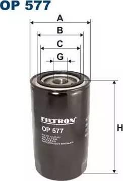 Filtron OP 577 - Filtr hydrauliczny, automatyczna skrzynia biegów intermotor-polska.com