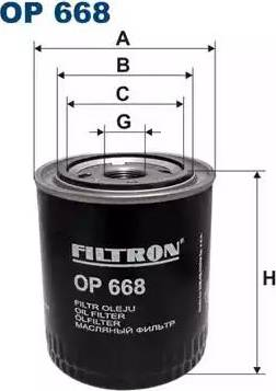 Filtron OP 668 - Filtr hydrauliczny, automatyczna skrzynia biegów intermotor-polska.com
