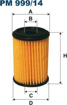 Filtron PM 999/14 - Filtr paliwa intermotor-polska.com