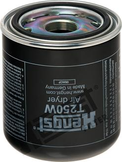Hengst Filter T250W - Wkład osuszacza powietrza, instalacja pneumatyczna intermotor-polska.com