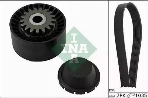 INA 529 0016 10 - Zestaw paska klinowego wielorowkowego intermotor-polska.com