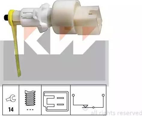 KW 510153 - Włącznik, wysprzęglanie (GRA) intermotor-polska.com