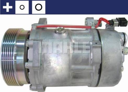 Mahle Original ACP 1021 000S - Kompresor, klimatyzacja intermotor-polska.com