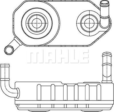 Mahle Original CLC 177 000S - Chłodnica oleju, automatyczna przekładnia intermotor-polska.com