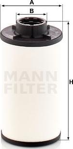Mann-Filter H 6003 Z - Filtr hydrauliczny, automatyczna skrzynia biegów intermotor-polska.com