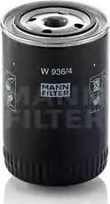Mann-Filter W 936/4 - Filtr, hydraulika sterownicza intermotor-polska.com