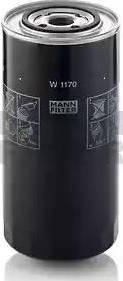 Mann-Filter W 1170 - Filtr hydrauliczny, układ kierowniczy intermotor-polska.com
