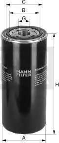 Mann-Filter WD 920/3 - Filtr hydrauliczny, automatyczna skrzynia biegów intermotor-polska.com