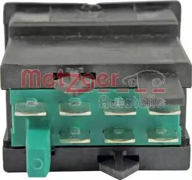 Metzger 0916265 - Przełącznik, ogrzewanie siedzenia intermotor-polska.com