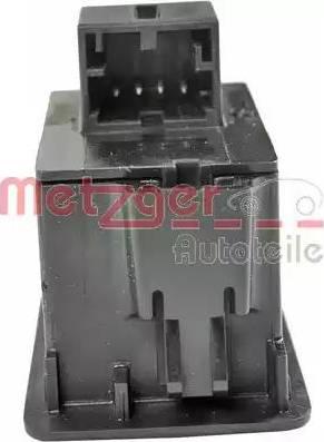 Metzger 0916286 - Włącznik, tylna pokrywa intermotor-polska.com
