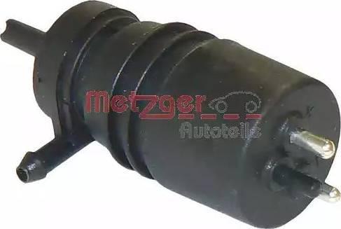 Metzger 2220009 - Pompa płynu spryskiwacza, spryskiwacz przednich reflektorów intermotor-polska.com