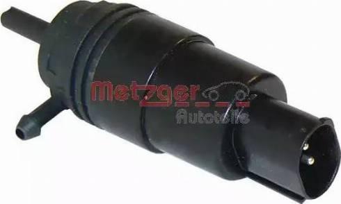 Metzger 2220026 - Pompa płynu spryskiwacza, spryskiwacz przednich reflektorów intermotor-polska.com