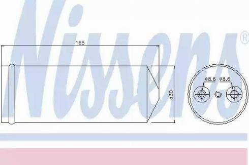 Nissens 95437 - Osuszacz, klimatyzacja intermotor-polska.com