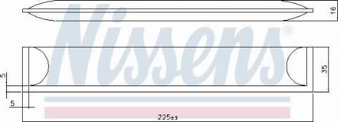 Nissens 95608 - Osuszacz, klimatyzacja intermotor-polska.com