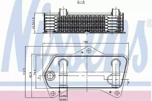 Nissens 90653 - Chłodnica oleju, automatyczna przekładnia intermotor-polska.com