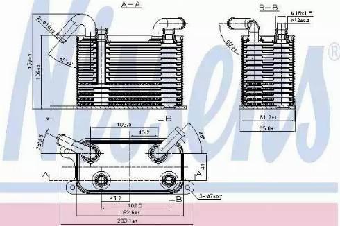 Nissens 90722 - Chłodnica oleju, automatyczna przekładnia intermotor-polska.com
