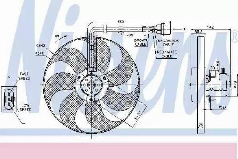 Nissens 85683 - Wentylator, chłodzenie silnika intermotor-polska.com