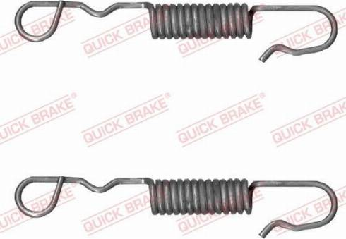 OJD Quick Brake 113-0518 - Zestaw naprawczy, dYwignia hamulca postojowego (zacisk) intermotor-polska.com
