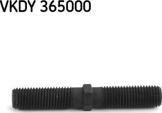 SKF VKDY 365000 - Zestaw naprawczy, połączenie osiowe, drążek kier. poprzeczny intermotor-polska.com