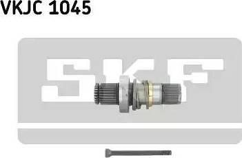 SKF VKJC 1045 - Wałek wewnętrzny, mechanizm różnicowy intermotor-polska.com