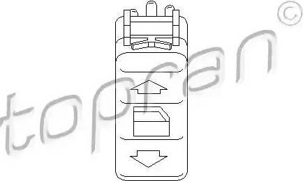 Topran 401 513 - Przełącznik, podnożnik szyby intermotor-polska.com