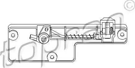 Topran 109 078 - Zamek schowka intermotor-polska.com