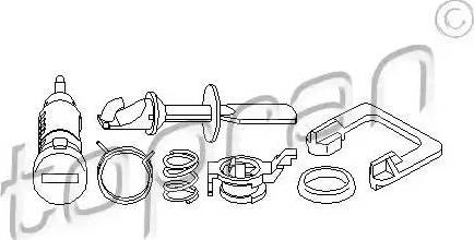 Topran 109 720 - Cylinder zamykany intermotor-polska.com