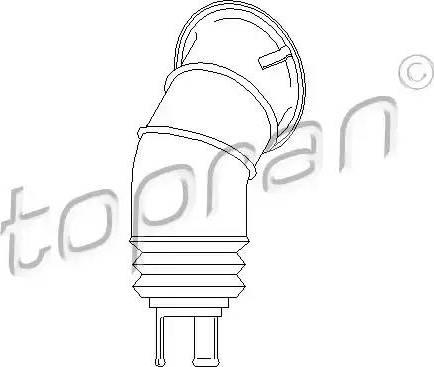 Topran 108 030 - Manszeta, kolumna kierownicy intermotor-polska.com