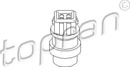 Topran 103 567 - Czujnik, temperatura płynu chłodzącego intermotor-polska.com