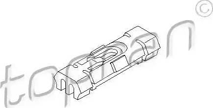 Topran 103 106 - Clip, listwa ochronna intermotor-polska.com