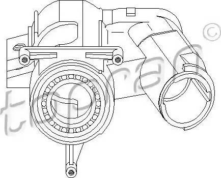 Topran 102 413 - Blokada kierownicy intermotor-polska.com