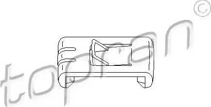 Topran 102 673 - Element ustalający, dostosowanie siedzenia intermotor-polska.com