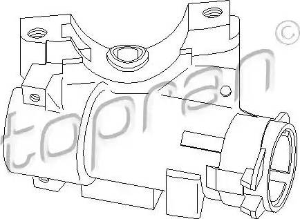 Topran 110 824 - Blokada kierownicy intermotor-polska.com
