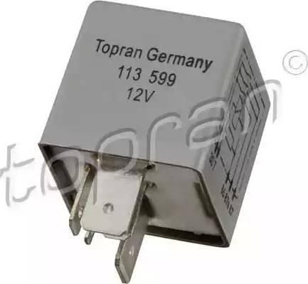 Topran 113 599 - Przekaznik, pompa paliwowa intermotor-polska.com
