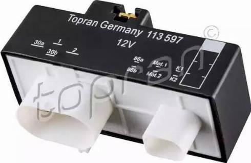 Topran 113 597 - PrzekaYnik, wentylator chłodnicy intermotor-polska.com