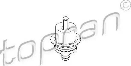 Topran 301 901 - Regulator ciżnienia paliwa intermotor-polska.com