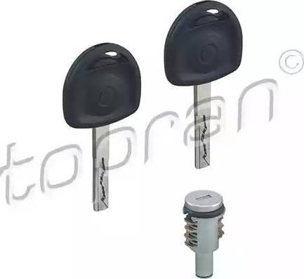 Topran 205 811 - Cylinder zamykany intermotor-polska.com