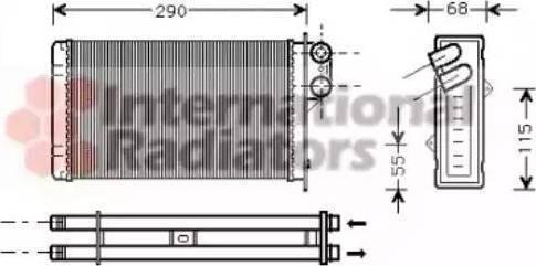 Ava Quality Cooling PE6100 - Wymiennik ciepła, ogrzewanie wnętrza intermotor-polska.com
