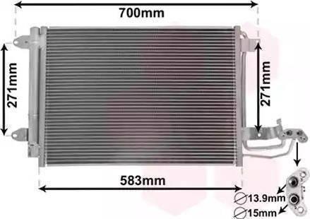Delphi TSP0225482 - Skraplacz, klimatyzacja intermotor-polska.com